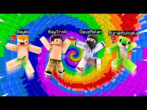 DROPPERDA KİM KAZANACAK! (Ekipli) ft.OğuzAslan,Beybi,BayTroll - Minecraft Dropper