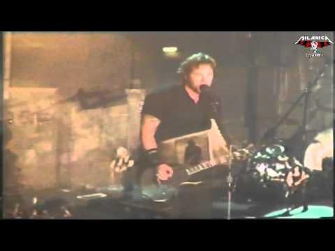 Metallica - Rare - Dirty Window - Bologna Italy - 2003