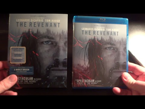 The Revenant (2015) - Blu-ray Unboxing