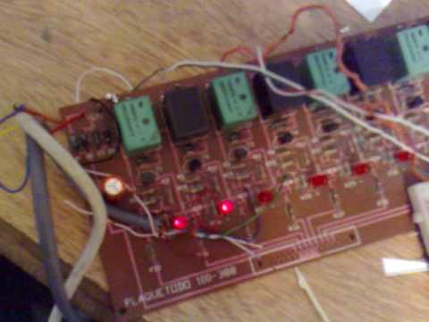 Motor PAP Bipolar Bridge H, intarfaz p. paralelo.