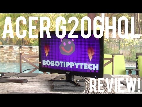 Acer G206HQL Monitor Review!