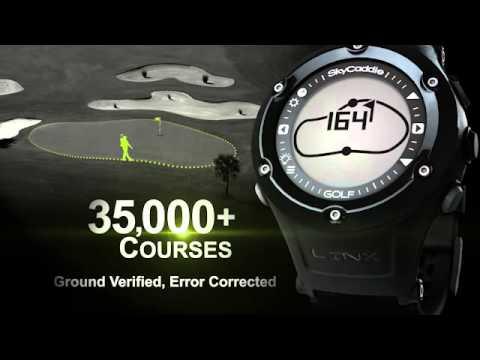 SkyCaddie LINX Golf GPS Watch at InTheHoleGolf.com