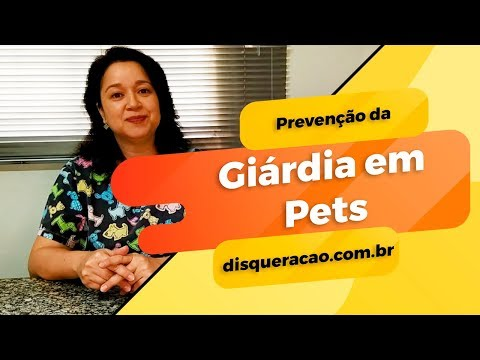 Giárdia em Animais - com Dra. Claudine
