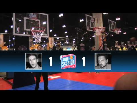 TheBasketballJoneses - Eleven acres of NBA activities. Two competitive hosts. One epic grudge match. Watch Skeets and Tas fight their way through NBA Jam Session, the most interact...