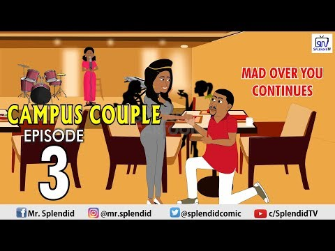 CAMPUS COUPLE EP3 (Mad Over You Continues) (Splendid TV) (Splendid Cartoon)