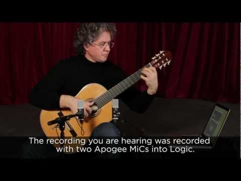 Recording acoustic guitar on a Mac with Apogee MiC