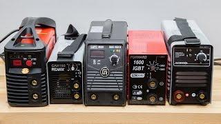 Тест сварочных аппаратов ММА на 160 А (полная версия)