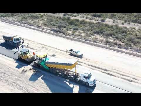 Plan Castello el primer tramo de la nueva Ruta 2 está terminado y en pocos días se inaugura