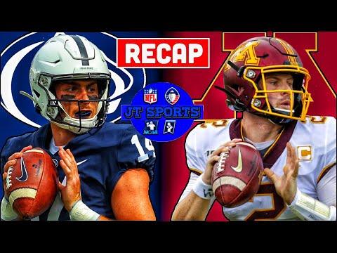 Minnesota vs Penn St Recap & Analysis   Minnesota Beats Penn St   College Football