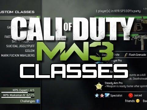 MW3 - My Fun Classes (MW3 Class Setup Tips)
