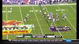 Kiko Alonso vs Kansas State (2012 Bowl)