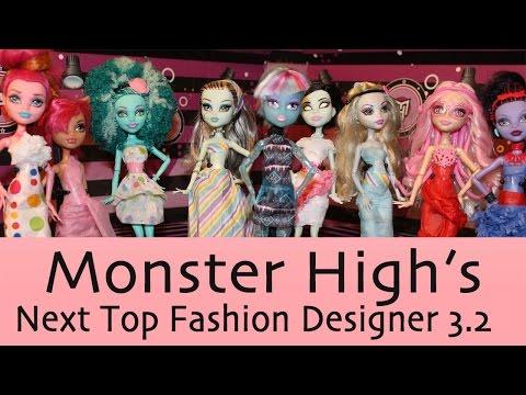Monster High Next Top Fashion Designers Monster High Next Top