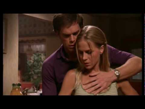 Rita & Dexter (Julie Benz and Michael C. Hall) - I Think I'm Paranoid:  Music video about Rita and Dexter. Garbage - I Think I'm Paranoid.