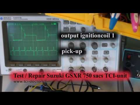 Suzuki GSXR750 sacs TCI-unit repair (32900-33E01 131800-6701)
