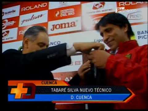 Tabaré Silva nuevo técnico Deportivo Cuenca