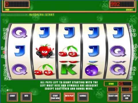 Играть в игровые автоматы бесплатно и без регистрации крейзи помидоры