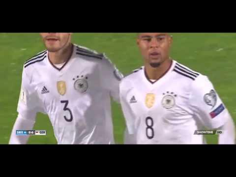 San Marino 0 - 8 Germany   11 Nov 2016  - Highlights