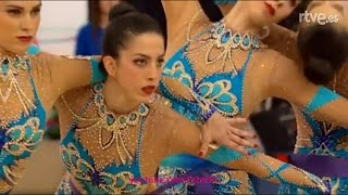 Guadalajara Spain  City new picture : Spain 5 ribbons AA - WC Guadalajara 2016