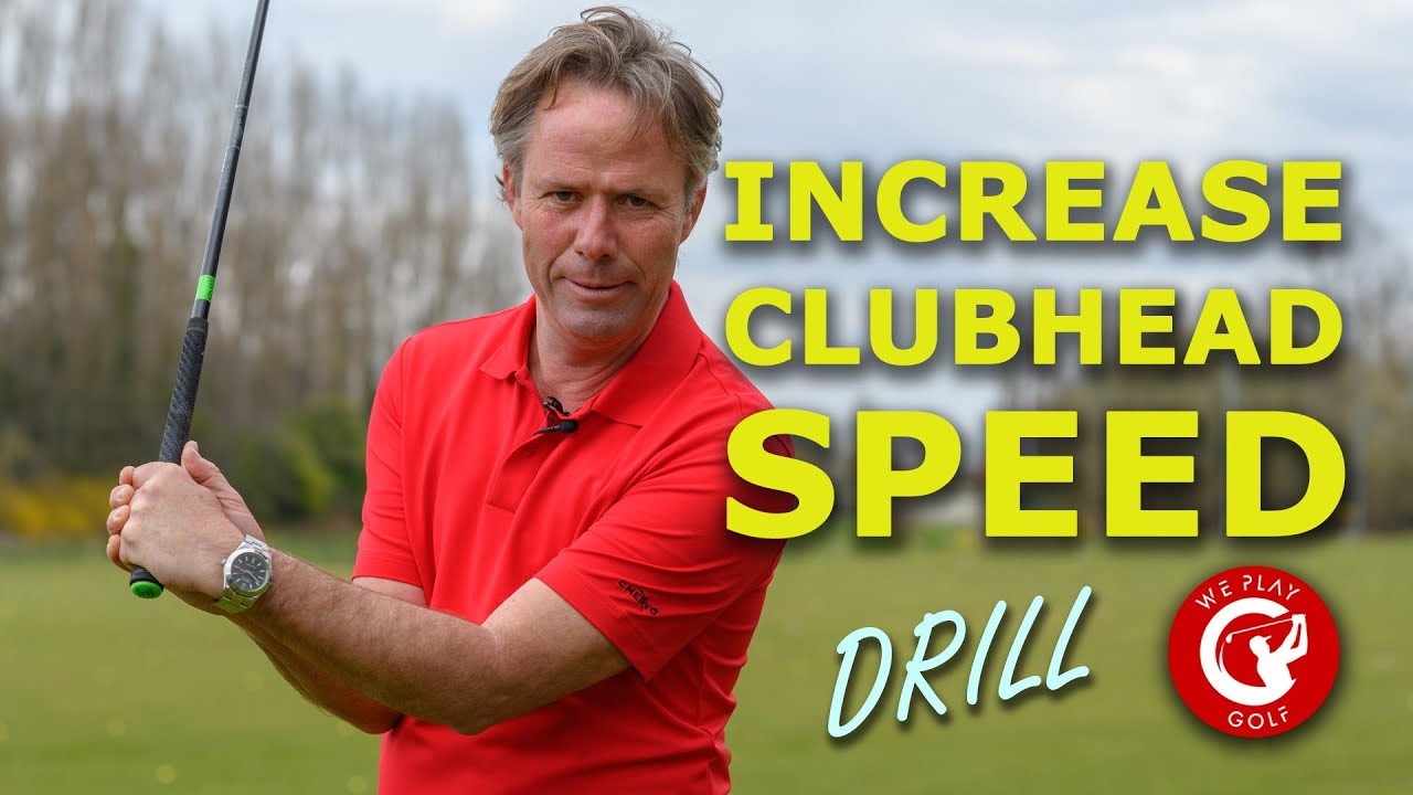 INCREASE YOUR CLUB HEAD SPEED with ONE easy drill