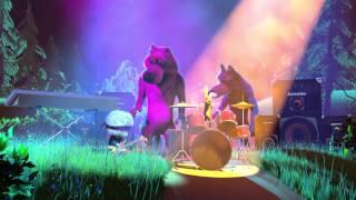 Маша и Медведь - Хит сезона (Рок-клип)
