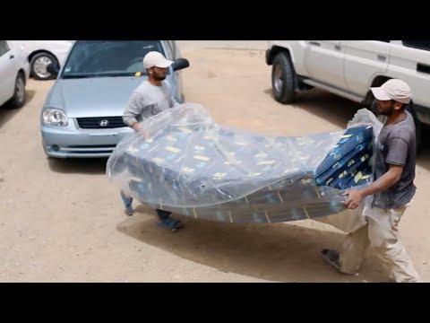 مؤسسة خيرية ليبية تساعد اللاجئين السوريين