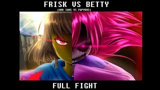 Video Frisk vs Bete Noire FULL FIGHT SCENE | Glitchtale S2 Ep4 (Part 2) MP3, 3GP, MP4, WEBM, AVI, FLV Februari 2019