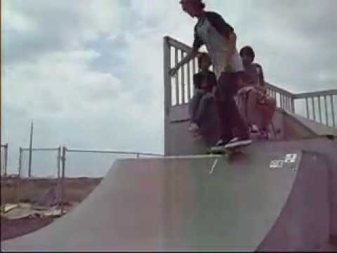 me and stephen at kailua-kona skate park