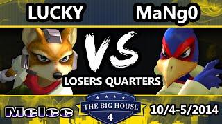 TBH4 – C9 Mango (Falco) Vs. Lucky (Fox) SSBM Losers Quarters – [HYPE SET]