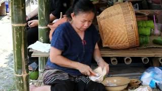 Thai Street Food At The Songkran Festival, Chiang Mai 2012