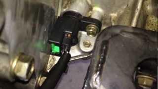 Code P0335 / P0340 /P1336 - Crankshaft Positioning Sensor Replacement DIY - Nissan.