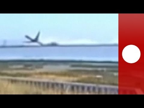 New Video: Asiana plane crash caught on security cam!