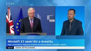 Jednání ministrů zemí EU o postupu rozhovorů s Británií o brexitu