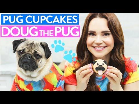 Making Pug Cupcakes with Doug the Pug