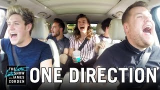 Video One Direction Carpool Karaoke MP3, 3GP, MP4, WEBM, AVI, FLV April 2018