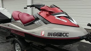 4. 2005 Sea-Doo RXT supercharged 215-HP 4-stroke jet ski walk-through tutorial