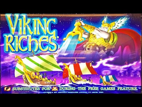 Viking Riches classic 5c slot machine, DBG Happy Goose