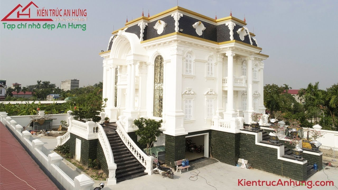 Mãn nhãn với biệt thự cổ điển Pháp 2 tầng - CĐT cô Nguyễn Thùy Dương - Hải Phòng