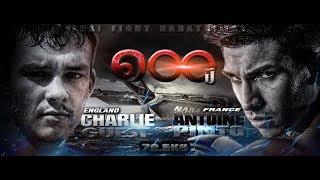 THAI FIGHT 2015 Aug 22 Narathiwat Antoine Pinto vs Charlie Guest
