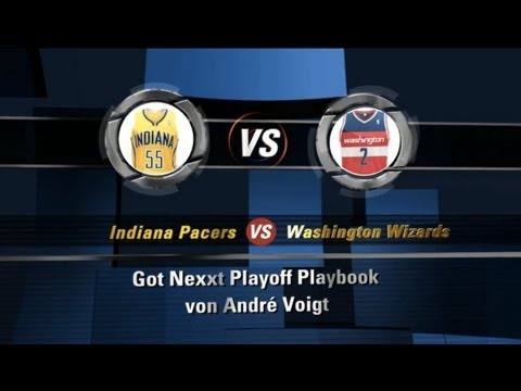 Playoff Playbook #5: Indiana Pacers vs. Washington Wizards