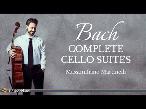 Bach - Complete Cello Suites (Massimiliano Martinelli)