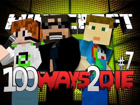 Minecraft 100 Ways To Die | Ice Bucket Challenge [7] (видео)