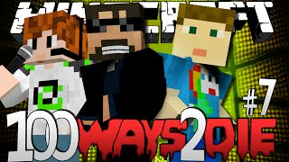 Minecraft 100 Ways To Die | Ice Bucket Challenge [7]