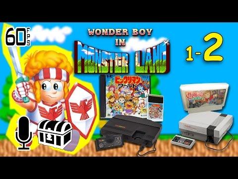 Wonder Boy in Monster Land PC Engine