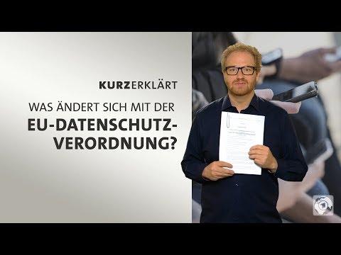 Was ändert sich mit der EU-Datenschutzverordnung?