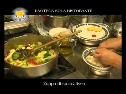 """Genova Gourmet, Enoteca Sola Ristorante: """"zuppa di stoccafisso"""""""