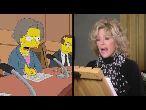 The Simpsons 26.05 (Featurette 'Guest Voice Jane Fonda')