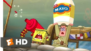 Nonton The SpongeBob Movie: Sponge Out of Water (2015) - Food Fight Scene (1/10) | Movieclips Film Subtitle Indonesia Streaming Movie Download