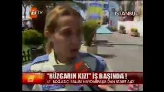Burcu Burkut Erenkul - ATV - Ana Haber - Boğaziçi Rallisi - 2012