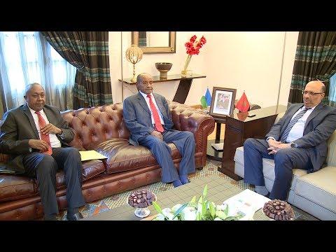نور الدين بوطيب يجري مباحثات مع وزير الداخلية الجيبوتي