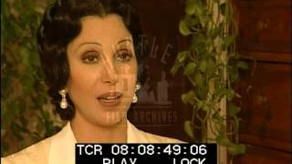 Cher Is Interviewed About Filming Tea With Mussolini -- Film 90015